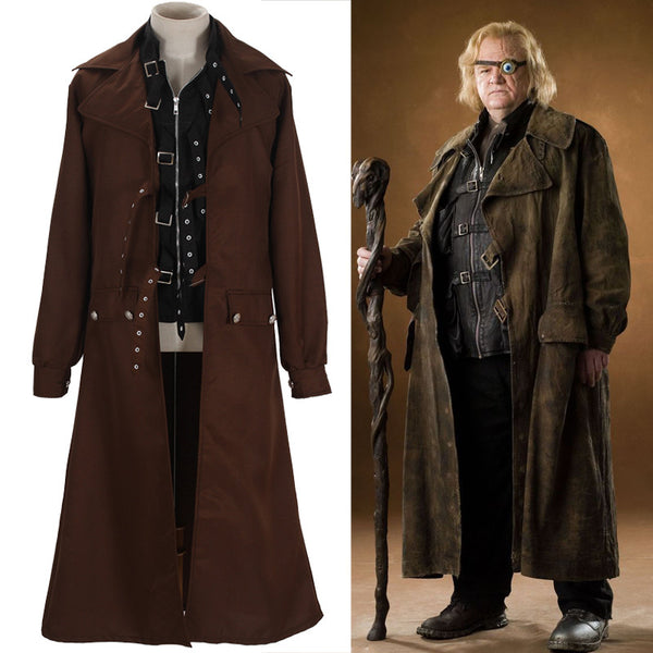 Harry Potter Alastor Moody Mad-Eye Costume Halloween Jacket Suit - Geek Bling