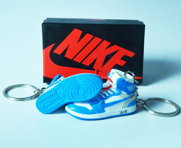 3D Air Jordan Sneaker Keychain with Box - Geek Bling