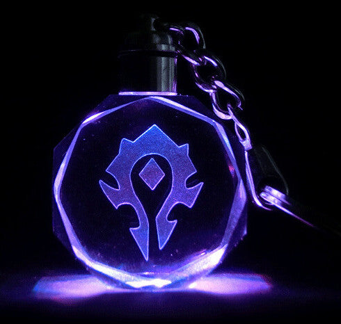 World of Warcraft LED Keychain - Geek Bling