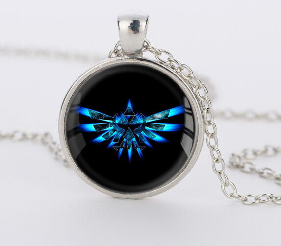 Legend of Zelda Triforce Dome Pendant Necklace - Geek Bling