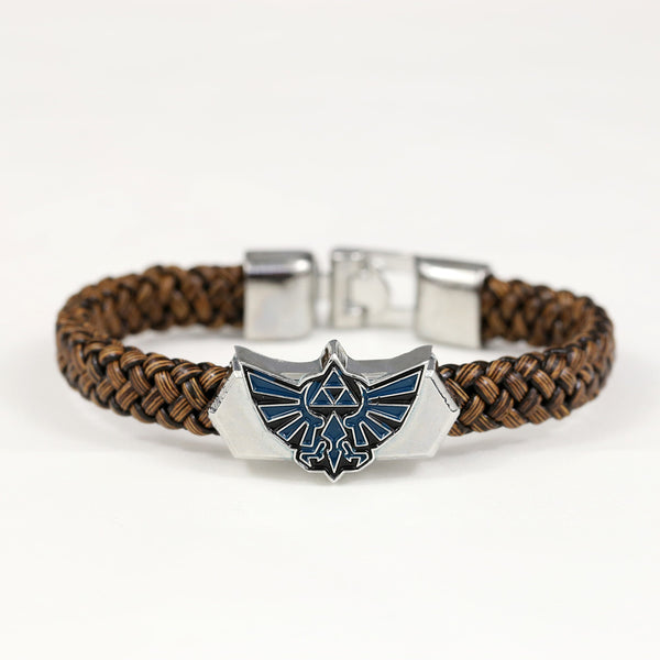 Legend of Zelda Leather Braided Bracelet - Geek Bling