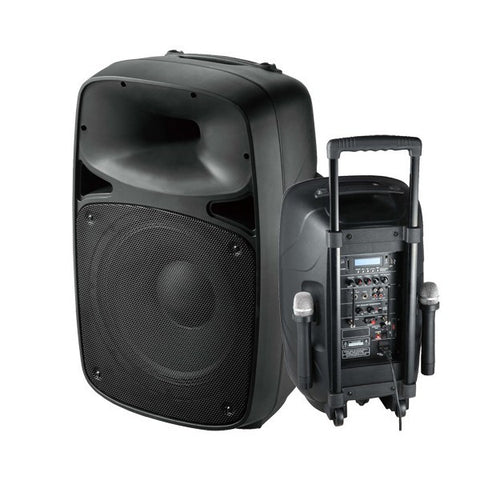 PORTABLE SOUND SYSTEM / MIC AND BLUETOOTH