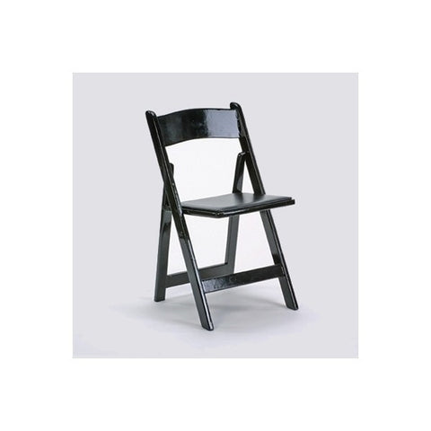 DELUXE BLACK PADDED CHAIR