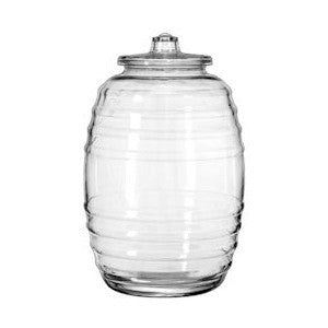 10L. GLASS PICKLE JAR