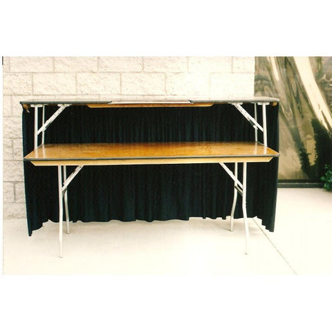 4' BAR WITH SKIRT