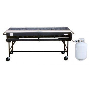 5 X 2 PROPANE GRILL & CART (BIG JOHN)