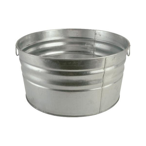 GALVONIZED TUB, LARGE