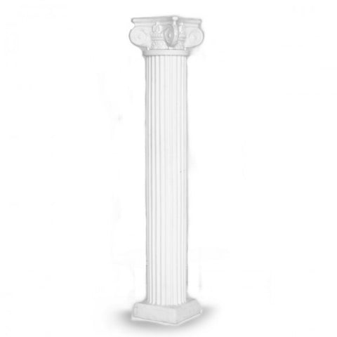 6' WHITE LARGE COLUMN