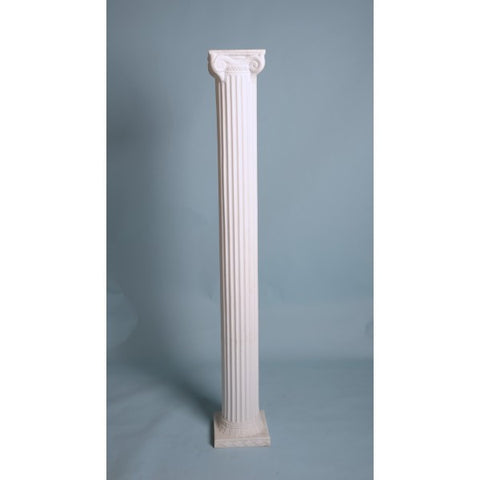 6' WHITE THIN COLUMN