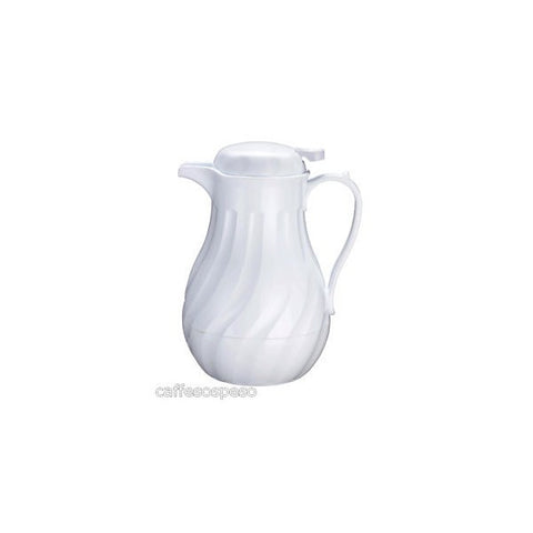 WHITE THERMO COFFEE SERVER