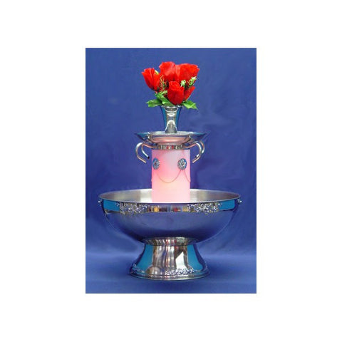 7 GALLON CHROME BEVERAGE FOUNTAIN