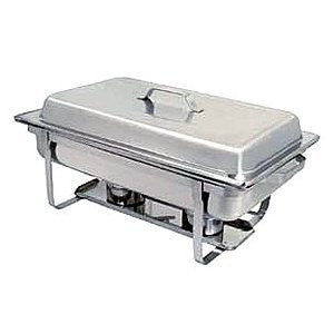8QT PLAIN STAINLESS CHAFER