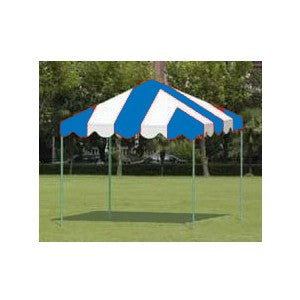10X10 STRIPED CANOPY TENT-VARIETY OF COLORS AVAILABLE