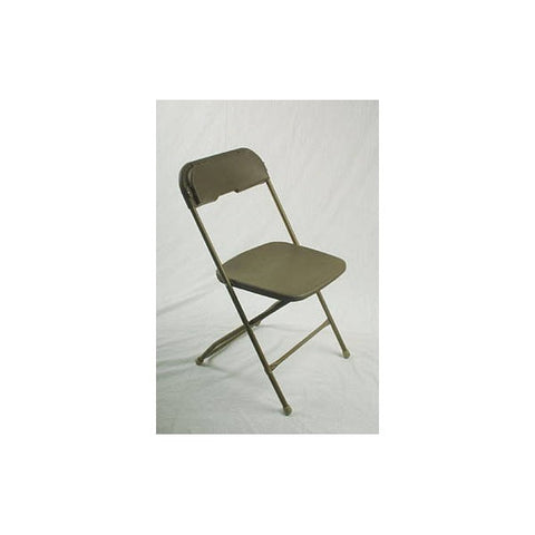 CAMEL BRONZE SAMSONITE FOLDING CHAIR