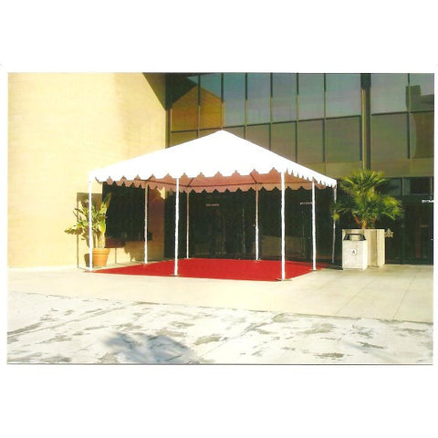 20X20 WHITE CANOPY TENT. ADDITIONAL SIZES AVAILABLE