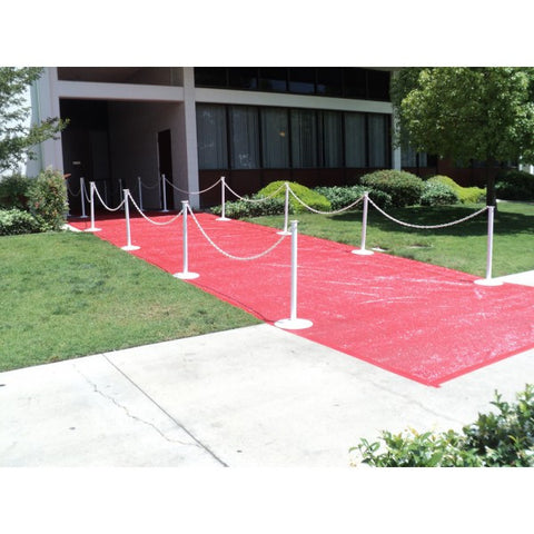 RED CARPET PER SQUARE FOOT