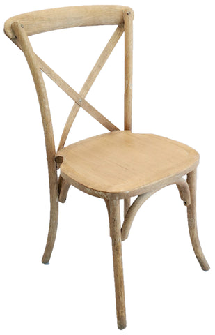 Crossback Chair / Lime Wash