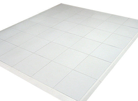 WHITE DANCE FLOOR, 4X4 SECTIONS