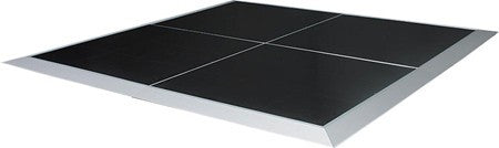 BLACK DANCE FLOOR, 4X4 SECTIONS