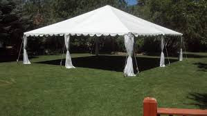 30X30 WHITE CANOPY TENT. ADDITIONAL SIZES AVAILABLE.