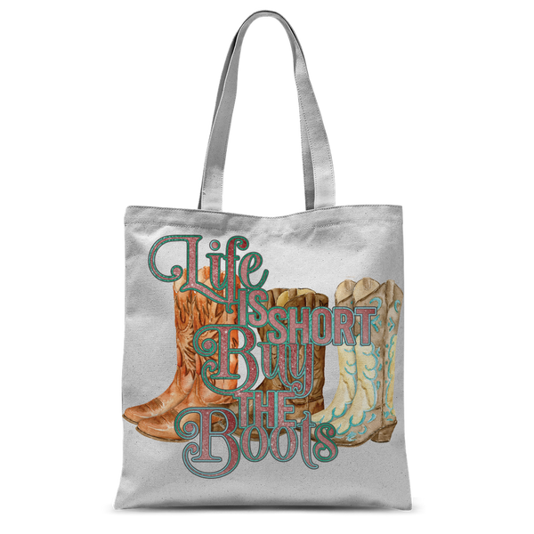 """Buy the Boots"" Classic Tote Bag"