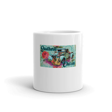 """Southern Charm"" - 11 or 15 ounce Coffee or Tea Mug"