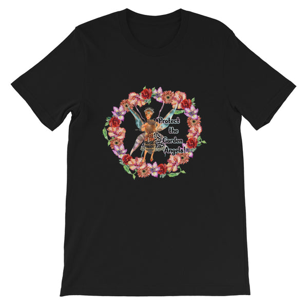 Protect the Garden Angels- Short-Sleeve Unisex T-Shirt