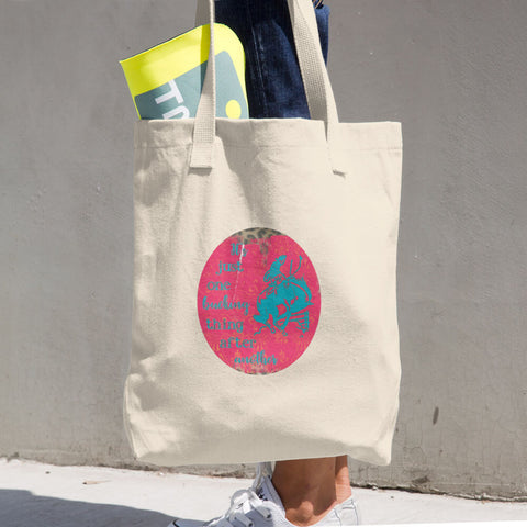 """Bucking Things"" Cotton Tote Bag"