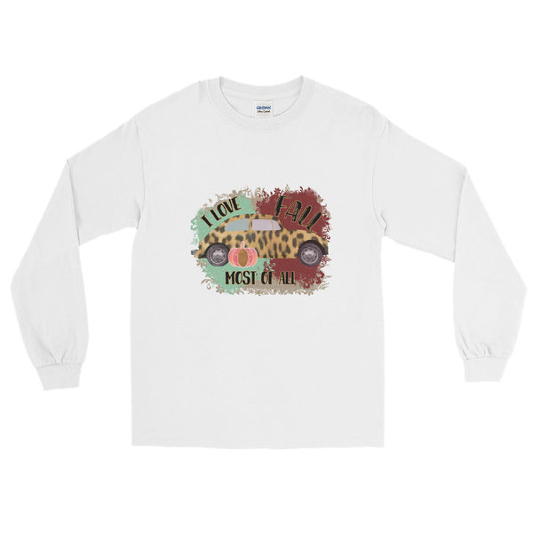 Love Fall Most of All- Long Sleeve T-Shirt