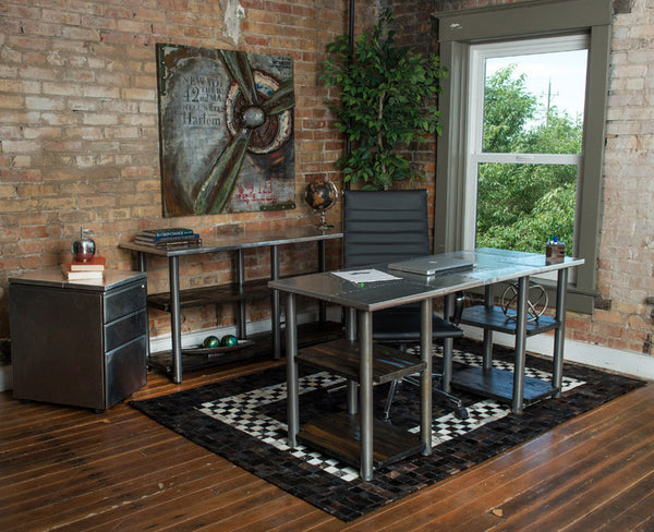 Furniture Pieces to Create an Industrial Office Feel