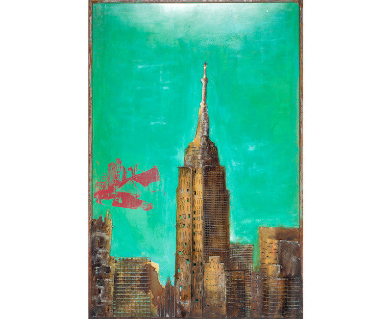 Empire State Industrial Wall Art