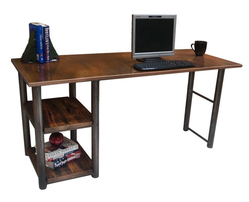 Rustic Single Shelf Writing Desk