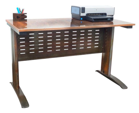 Rustic Double Shelf Writing Desk