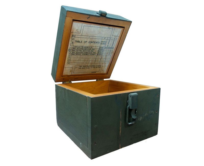 Square Military Storage Box
