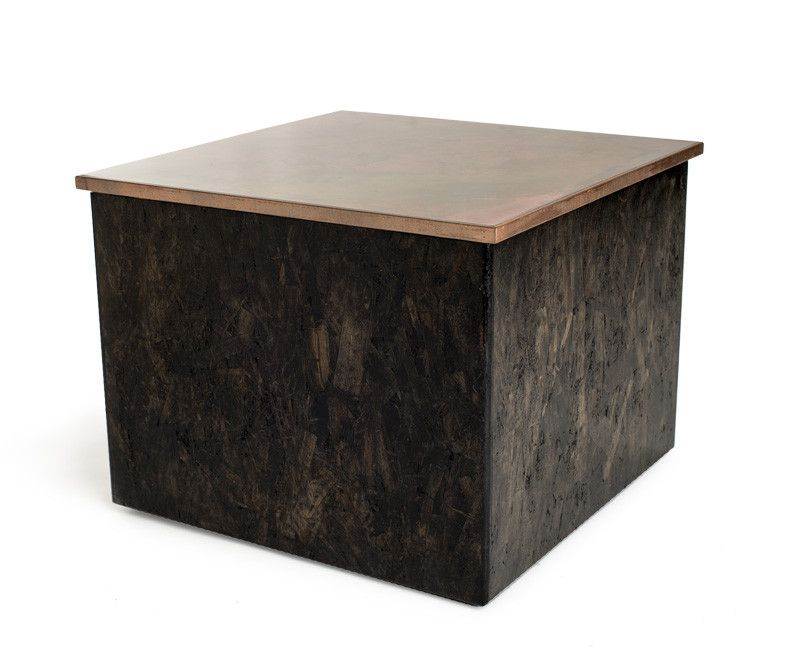 Rustic Side Table (color Options)