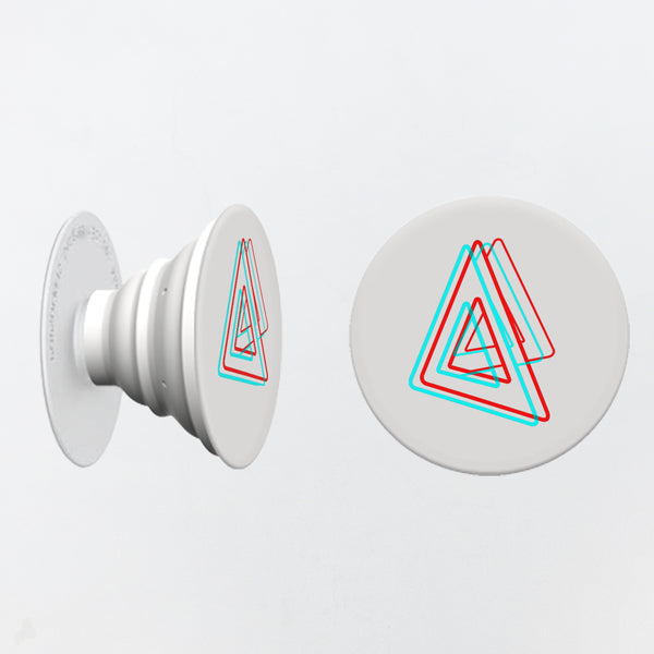 BASTILLE 3D TRIANGLE LOGO WHITE POP SOCKET