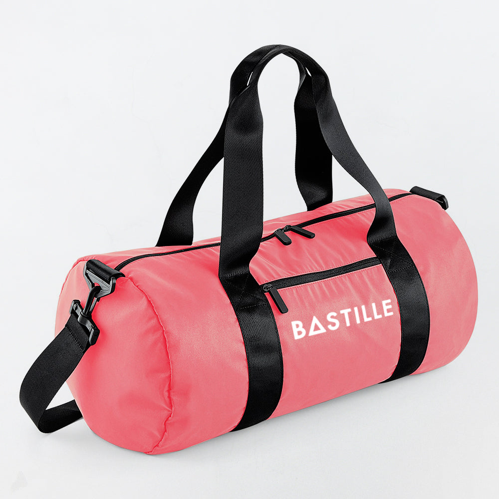 BASTILLE LOGO PINK GYM BAG