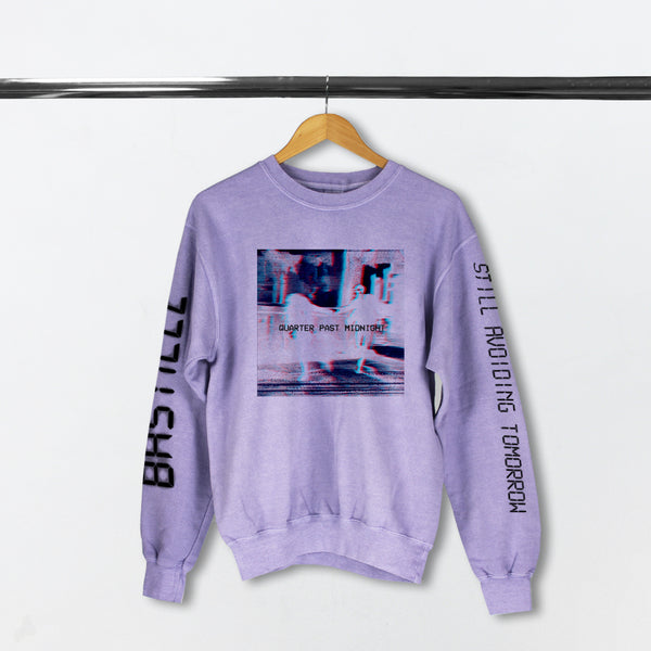 QUARTER PAST MIDNIGHT LILAC SWEATSHIRT