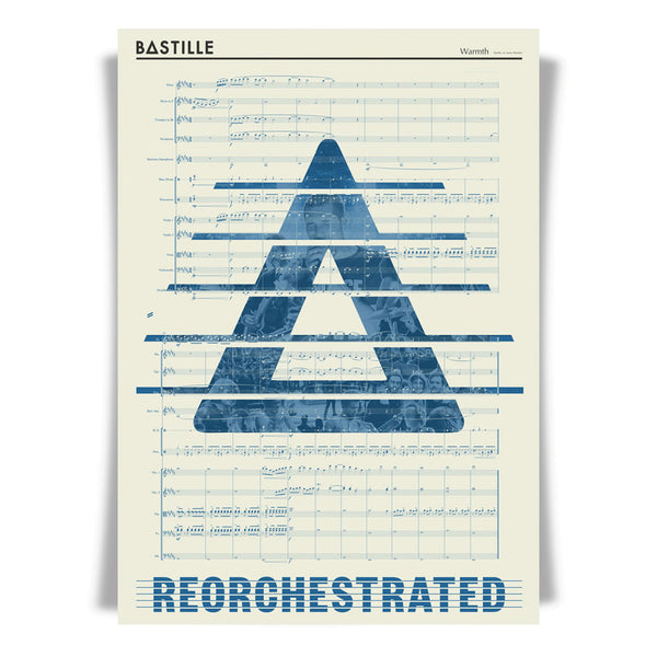 ReOrchestrated 'Warmth' score lithograph