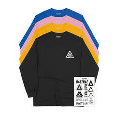 LOGO EVOLUTION L/S T-SHIRT & STICKER SET