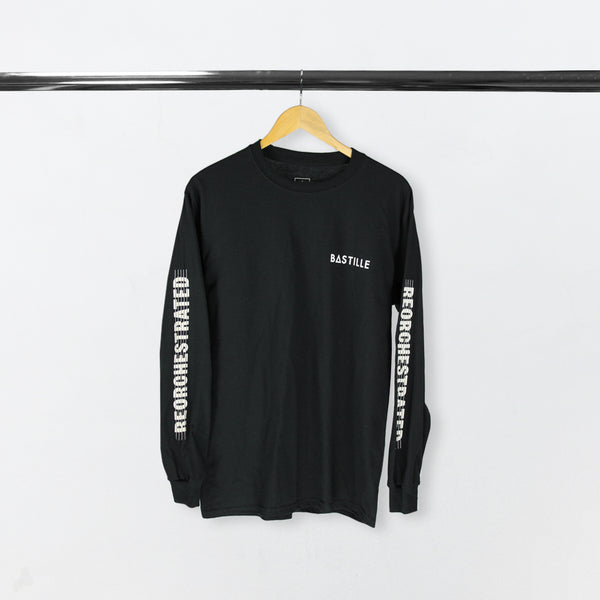 REORCHESTRATED TOUR 2018 DATED LONG SLEEVE BLACK T-SHIRT