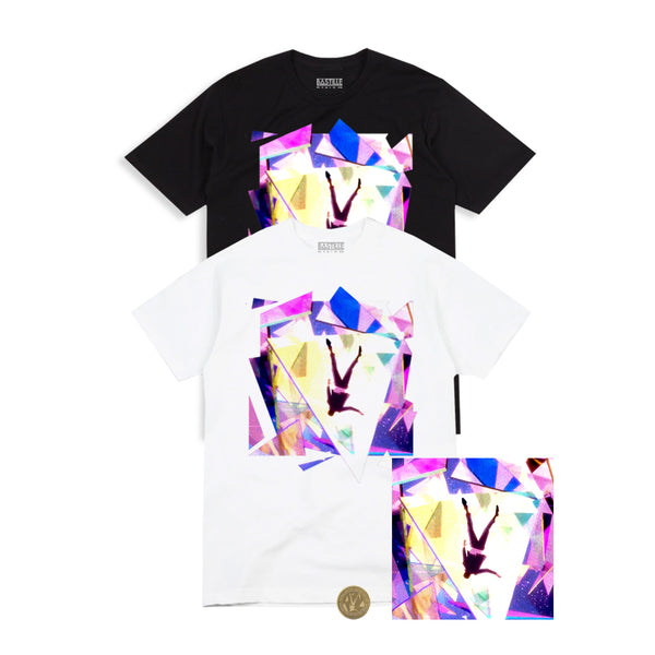 SURVIVIN' BUNDLE - TEE (white or black) + POSTER + COIN