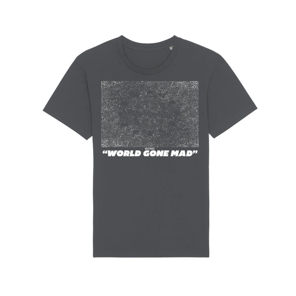 REWIND WORLD GONE MAD STATIC T-SHIRT