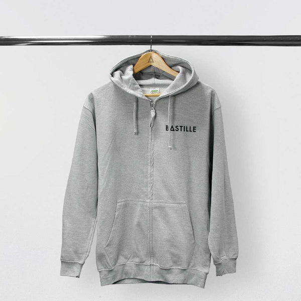 """WILD WORLD"" GREY HOODY"