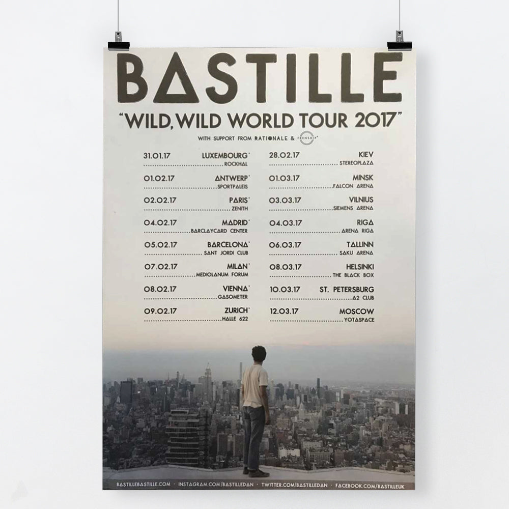 WILD WORLD PART 1 (A2 TOUR POSTER)