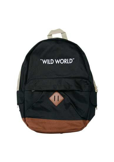 """WILD WORLD"" BACKPACK"