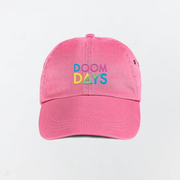 DOOM DAYS PINK DAD CAP