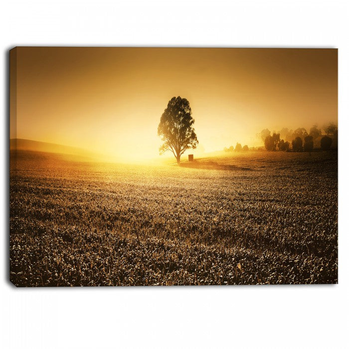 farmland panorama landscape photography canvas art print