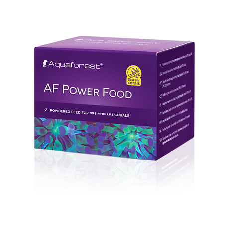 Aquaforest AF Power Food 20g - WIndows to the Ocean Aquarium Supplies