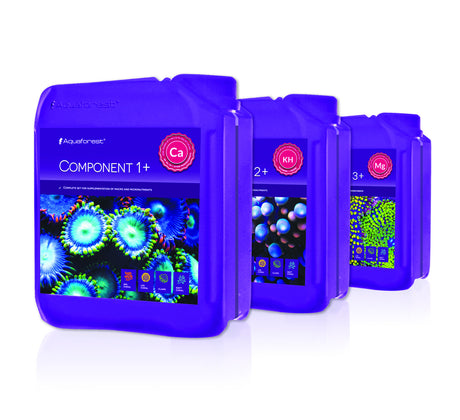 Aquaforest Component 1+,2+,3+,  3x5L Bottles